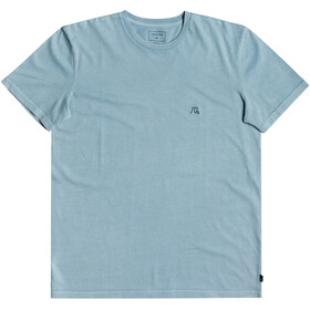 Quiksilver Basic Bubble Emby SS Tee Men, blue heaven